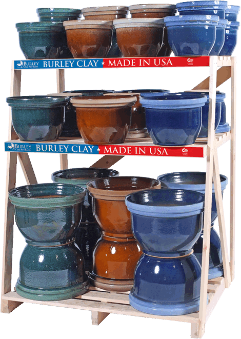 LARGE BELL PLANTER DISPLAY